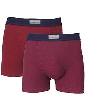 abanderado 24, Bóxer para Hombre, Morado (Morado Estampado 1J8), XXX-Large (Tamaño del fabricante:XXL/60)(Pack...