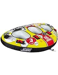 Jobe Triplet 3P - Flotador de Arrastre, Color Amarillo