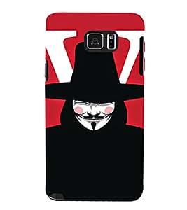 EPICCASE Vendetta Mobile Back Case Cover For Samsung Galaxy Note 5 (Designer Case)