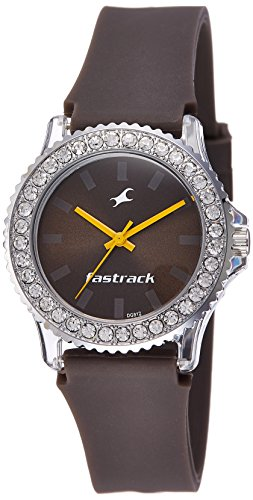 Fastrack Analog Brown Dial Women\'s Watch-9827PP17J