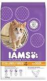 Iams Kitten Trockenfutter (mit viel Huhn, für junge Kätzchen bis 12 Monate, enthält viel hochwertiges tierisches Protein), 10 kg Beutel