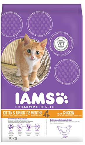 Iams for Vitality Kitten con Pollo fresco - 10 kg