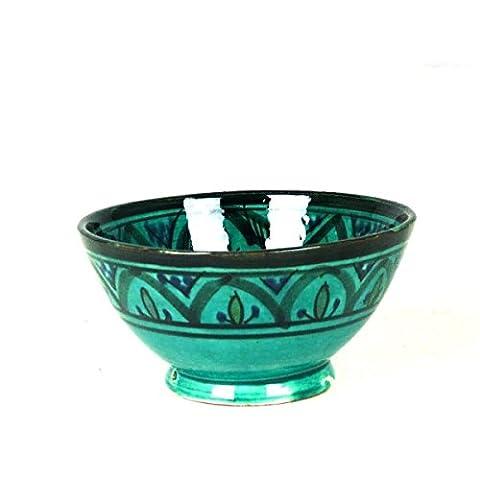 Orientalische marokkanische Keramikschale Keramik Müsli Obst Salat Schale Schüssel Deko klein Color