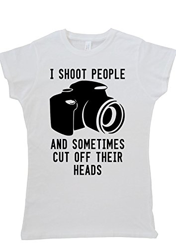 I Shoot People Ans Sometimes Cut Off Their Head Women Ladies Vest Tank Top T Shirt