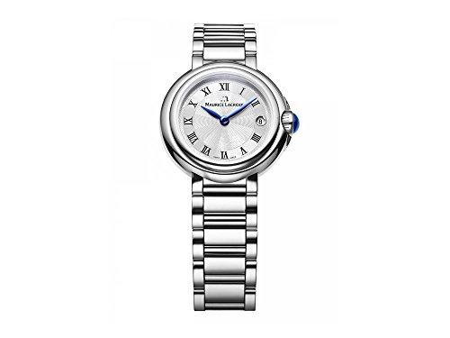 Maurice Lacroix Femme Montre bracelet quartz analogique en acier inoxydable fa1003SS002–110–1
