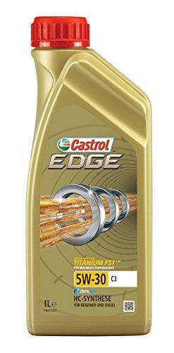 Castrol 52607 Edge Motoröl Titanium FST 5W-30 C3, 1 Liter