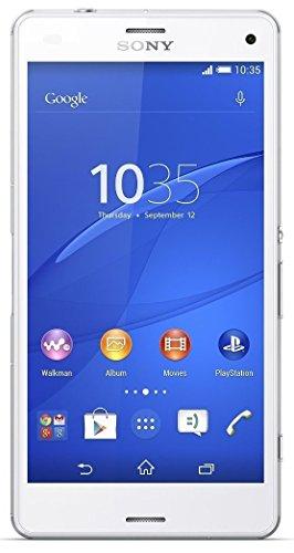 Sony Xperia Z3 Compact Smartphone, 16 GB, Bianco [Italia]