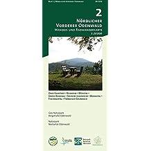 Blatt 2, Vorderer Nördlicher Odenwald: Wander- und Radwanderkarte 1:20.000. Mit Ober-Ramstad, Reinheim, Mühltal, Groß-Bieberau, Seeheim-Jugenheim, ... und Naturpark Neckartal-Odenwald)