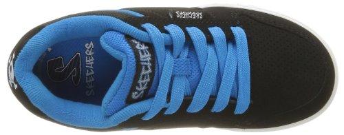 Skechers Vert II Jungen Sneakers Schwarz (Bkry)