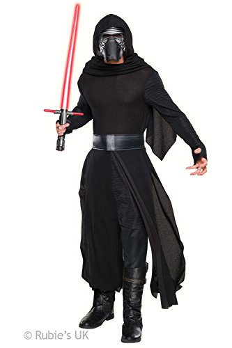 Star Wars Adult The Force Awakens Kylo Ren Costume Mens Standard UK Size Up To 44
