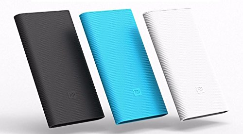 mStick Soft Silicone Protective Case Cover For Xiaomi Mi Power Bank 10000mAh Version 2 ( Powerbank Not Included ) - Black  available at amazon for Rs.299
