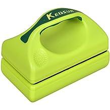 KEDSUM Limpiador para acuarios con un asa, color verde (grande)