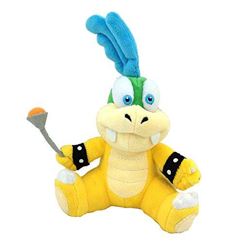 Yijinbo Larry Koopa Super Mario Bros Koopalings Peluche de Peluche Suave Animal de 6 Pulgadas