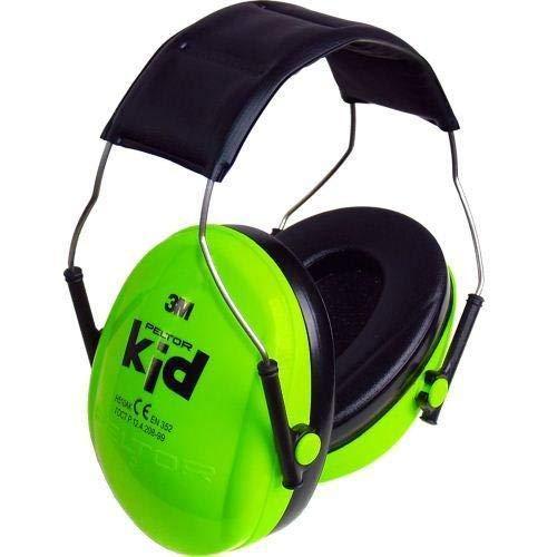 XDrum Peltor Kid Gehörschutz (Kapselgehörschützer für Kinder von 2-7 Jahren, Lärmpegel bis 98 dB, sehr leicht)