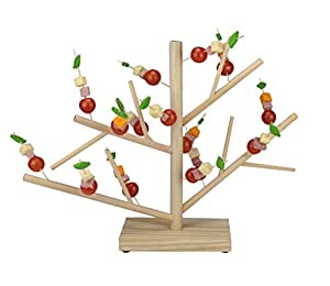Ard'time PB Support à Brochette Design Arbre Bois