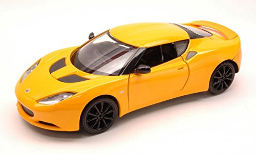 mondo-motors-mm51158y-lotus-evora-s-2010-yellow-124-modellino-die-cast-model