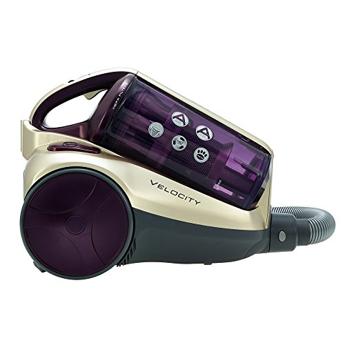 Hoover RE71_VE20001 Velocity Cylinder Vacuum Cleaner, 2.5 L, 700 W – Purple and Champagne