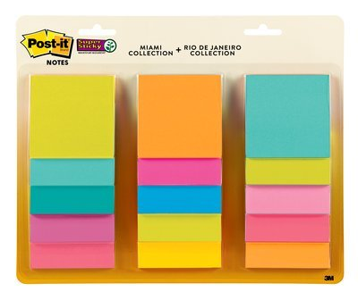 post-it-notes-76-x-76mm-15-pads-45-sheets-assorted-colours-miami-and-rio-de-janeiro-collections