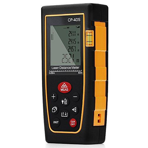 Telmetro-Lser-GrandBeing-Medidor-de-Distancia-0-40M-Distancimetro-Lser-con-Memoria-de-Almacenamiento-de-20-Datos-Unidades-Ajustables-entre-M-In-Ft-Medidor-de-Metros-con-Bateras-AAA