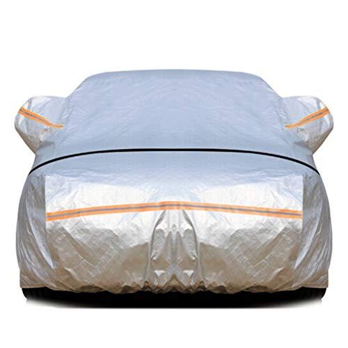 JLZS-Car Covers Écran Solaire de vêtements de Voiture Honda CRV/Civic/Accord pleuvant sous Une Couche de Voiture épaisse de Couverture de Voiture de (Couleur : Silver, Taille : Honda CRV)