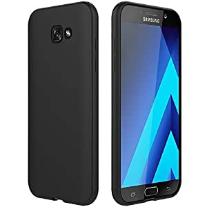 SmartLike Silicon Back Cover for Samsung Galaxy A5 (2017) A520 - Black
