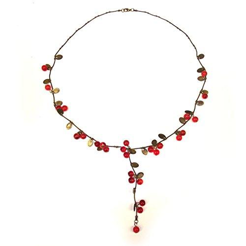 """alternative Halskette """"Johannisbeere"""" ausgefallene Form"""