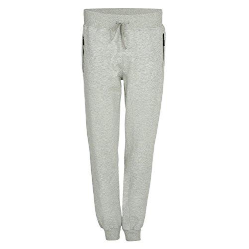 Diadora Evo Pants Herrenhose, Grigio Melange Medio Chiaro (C5493), XL