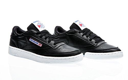 Reebok Club C 85 So, Chaussures de Running Homme multicolore (Black / White /  Vital Blue / Primal Red / Ash G)