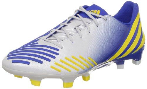Fußball-stollen, 5 Größe Jungen (Adidas Predator LZ TRX FG, Fußballschuhe für Herren, weiß - Bianco (Blanc (Vivid Yellow S13)) - Größe: 40 EU)
