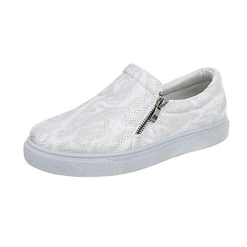 Sneakers con chiusura velcro per donna Dunlop kntRZr