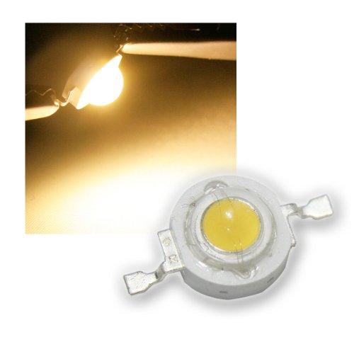 Highpower LED 3W warmweiß, Typ