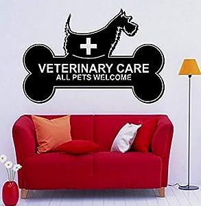 clinicas veterinarias animal: Dalxsh Peluquería Salón Pared de vinilo Perros Cuidado veterinario Todos los ani...