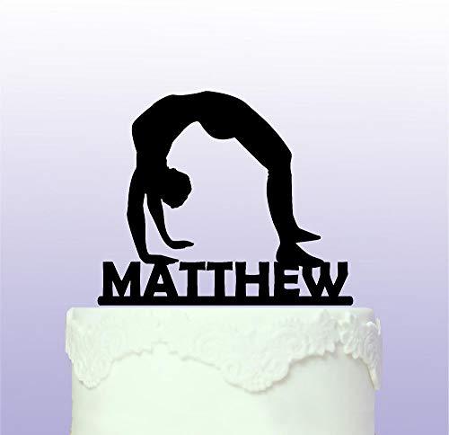 Personalisierbare Gymnastik-Kuchenaufsatz, Gymnastik, Gymnastik