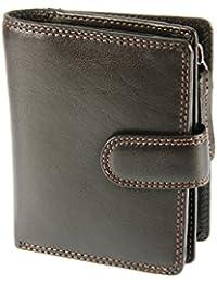 Visconti - HT31 - Portefeuille porte-monnaie compact, multi-compartiment, pour femme
