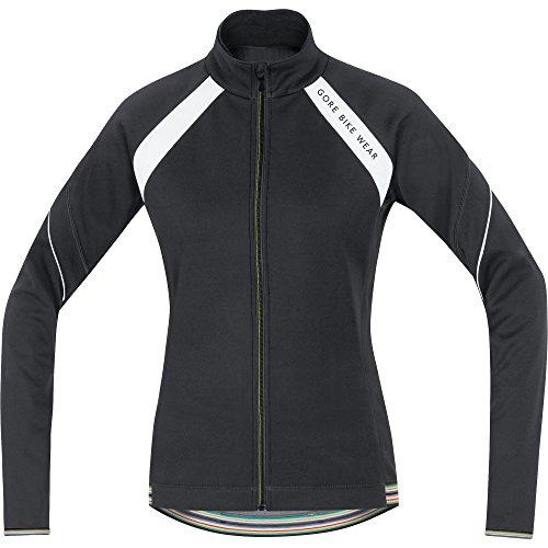 GORE BIKE WEAR, Femme, Veste Thermique de cyclisme sur route, chaude, GORE WINDSTOPPER Soft Shell, POWER LADY 2.0 WS, SO, JWWPOW Nero/Grigio