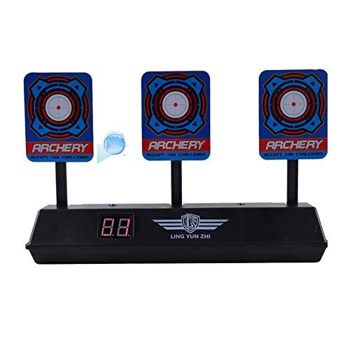 Domeilleur Elektrisches Zielscheibe, automatische Reset-Funktion für Nerf N-Strike Blaster