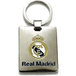 Llavero Real Madrid metálico chapa escudo esmaltado [AB3456]