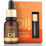 Elansa 100% Pure Sweet Orange Essential Oil, 15ml