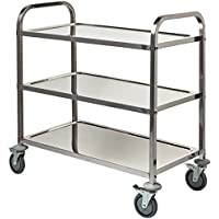 Stalwart m714403Tier S/S carrito auxiliar