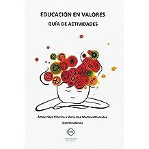 EDUCACION EN VALORES GUIA DE ACTIVIDADES