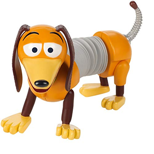 Mattel GGX37 - Toy Story 4 Hund Slinky Figur, 17 cm Spielzeug Action Figur ab 3 Jahren (Slinky Dog Spielzeug)
