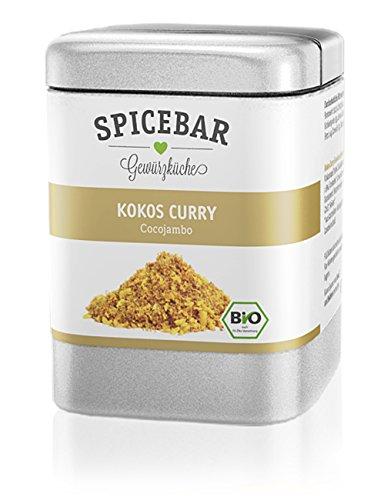 Spicebar Kokos-Curry, für Hühnchen und Gemüse, Bio (1 x 70g)