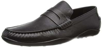 Harrys of London Men's Basel2 Scotch Loafers Black 9 UK