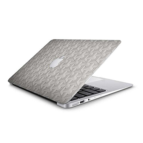 Vinyl Revolution Schutzhülle für MacBook Air Retina 33 cm (13 Zoll), Porzellan, geometrische Fliesen, Weiß - Porzellan-fliesen