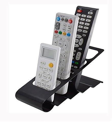 jecxep Organiseur de rangement 2Maison Télécommande TV/DVD/VCR Step Support Téléphone