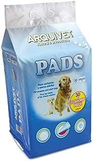 Arquivet Economic Pack - Pads Empapadores higiénicos educaticos perros - 30 uds. - 60 x 60 cm