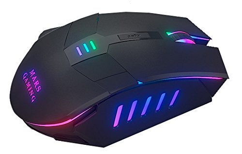 Mars Gaming MM116 - Ratón gaming para PC (3200 DPI, sensor óptico...