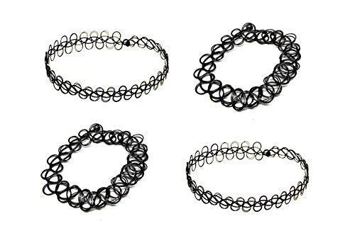 2x-collier-et-2x-bracelet-choker-henne-tatouage-elastique-ras-du-cou-gothique-noir-style-retro-80s-9