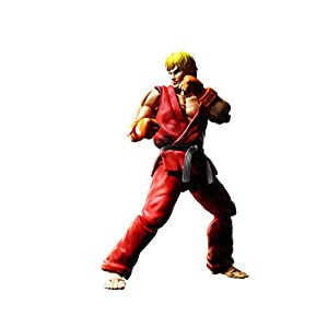 Bandai - Ken Masters Street Fighter Figuarts No.07, BDISF238942 1