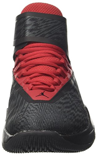 Nike Jordan Fly Unlimited, Chaussures de Basketball Homme Noir (Black/Wolf Grey-Gym Red-Anthracite)